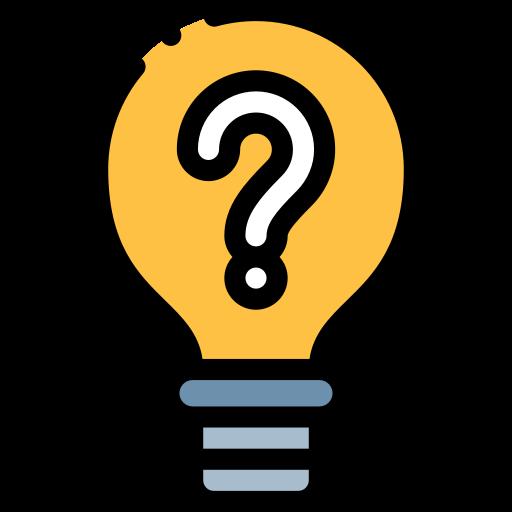 bulb showing curiosity in copywriting