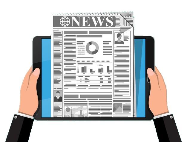 Copywriting headline in news