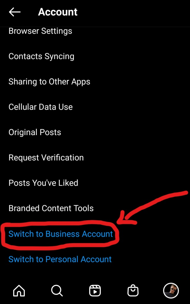 switching to instagram business account part 3