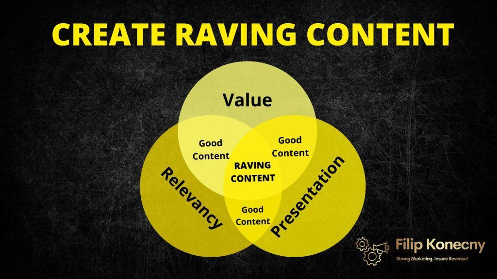 3 pillars of raving content