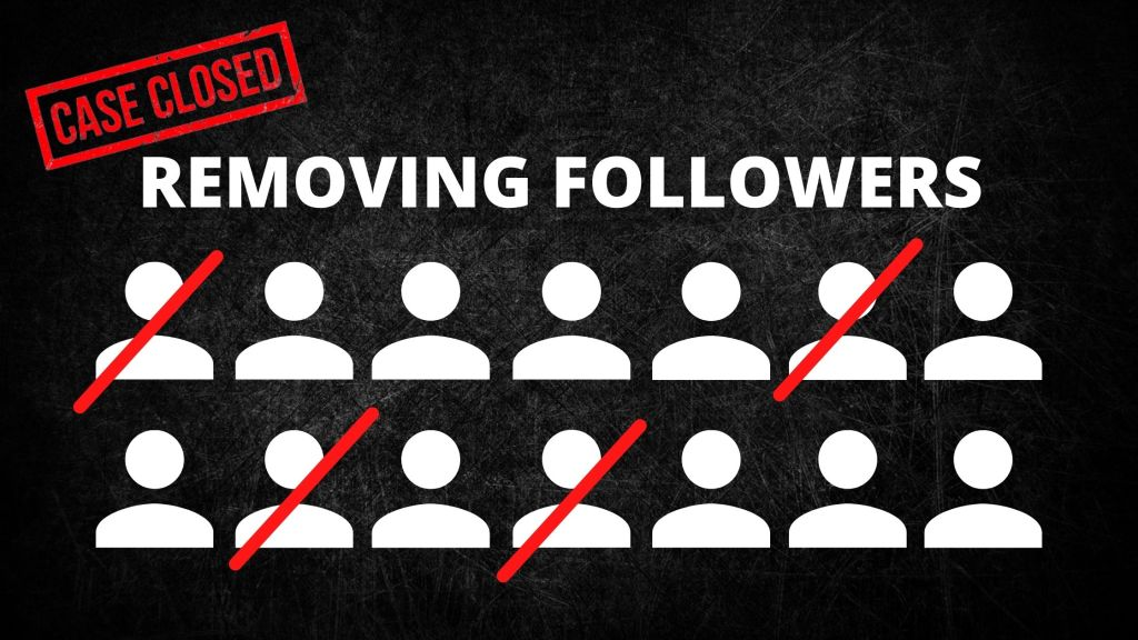 Instagram marketing follower removal