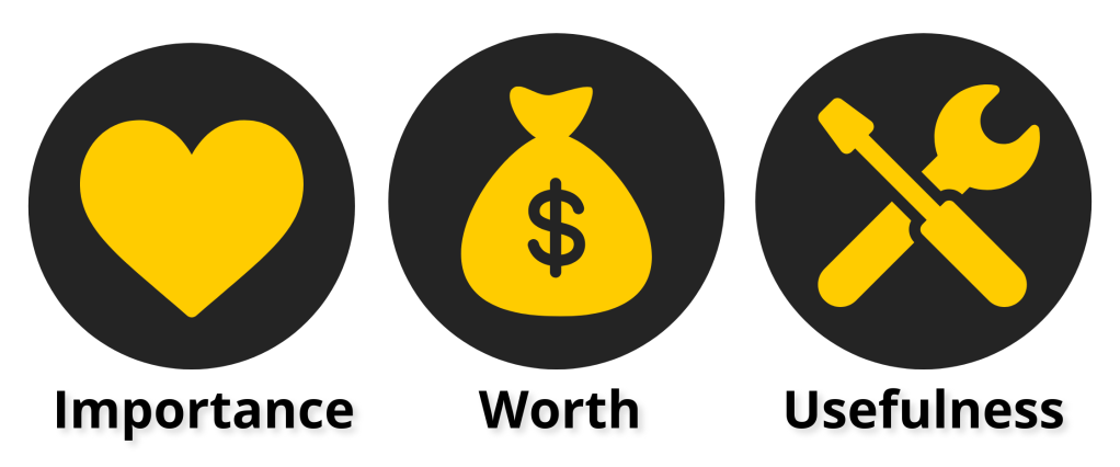 Instagram value infographic