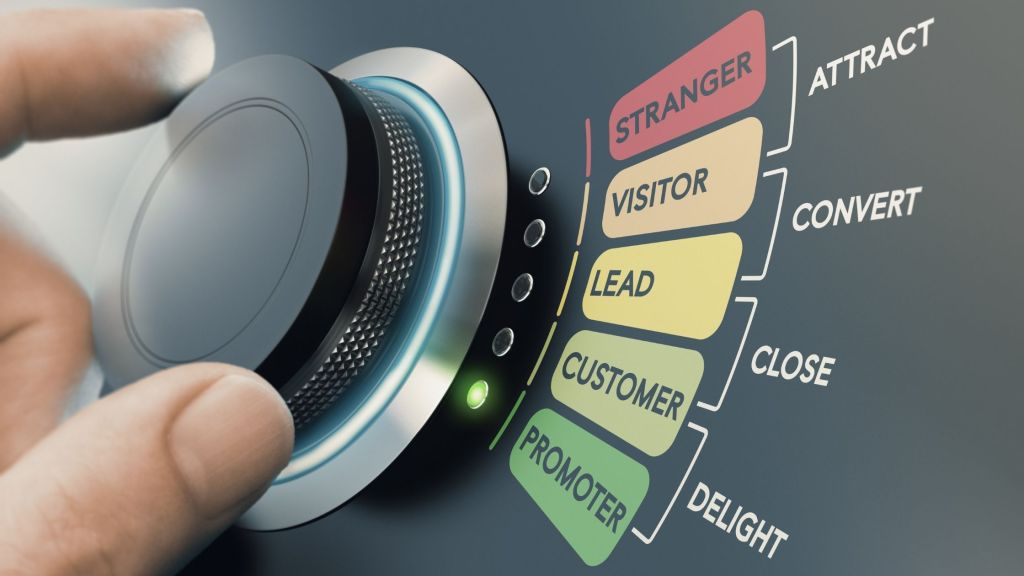 sales funnel demonstration image