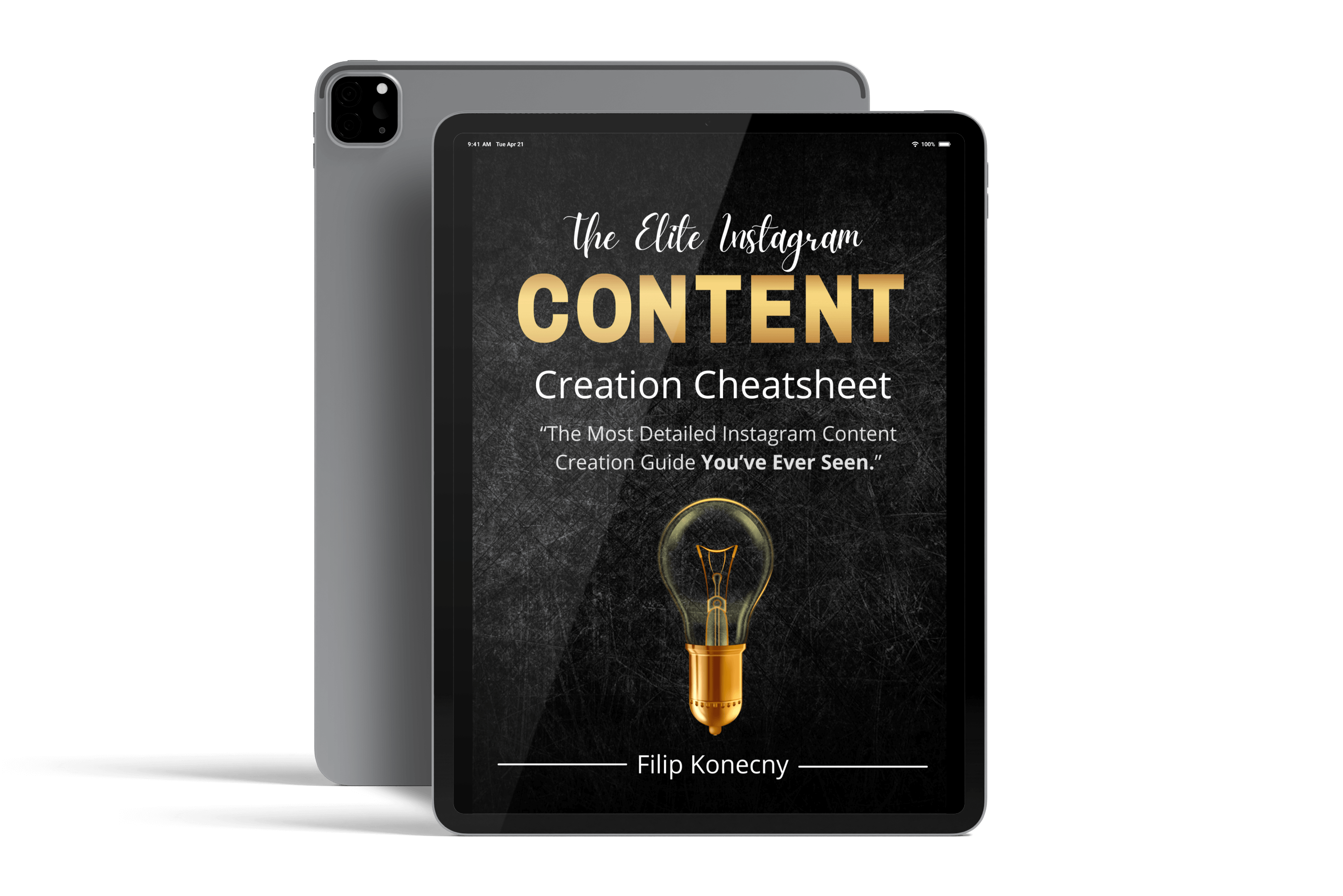 Elite Instagram Content Creation Cheatsheet E-book Image