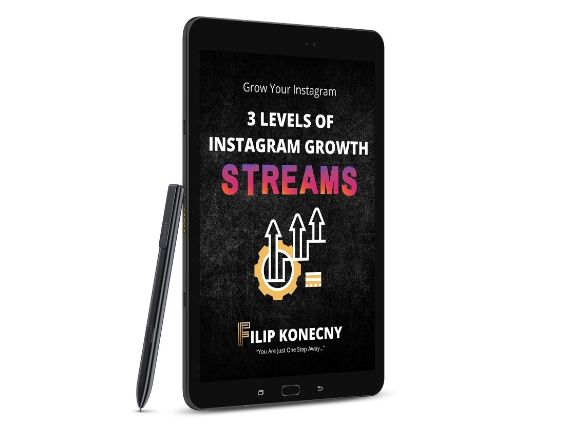 3 levels of instagram growth streams e-book